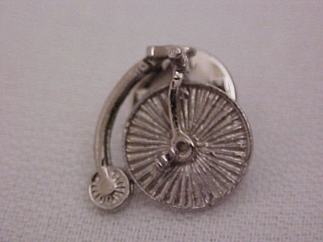 Old Vintage Bike Pin