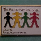 Mcdonalds House Of Charities Metal Pin