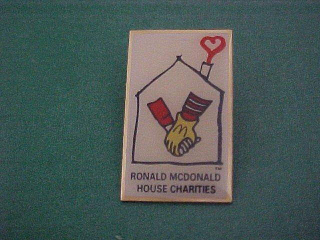 Ronald Mcdonalds House Of Charities Pin