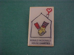 Ronald Mcdonalds House Of Charities Pin