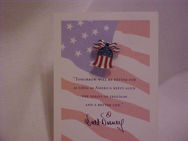Walt Disney ALL AMERICAN 9-11  Bell Pin-Pins