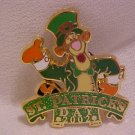 Disney 2002 Tigger Celebrating St. Patrick&#39;s Day Pin