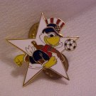 All American Eagle Soccer Star !!!  Pin-Pins