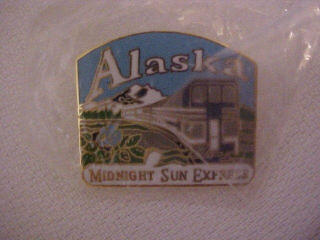 Midnight Sun Express ALASKA Pin-Pins