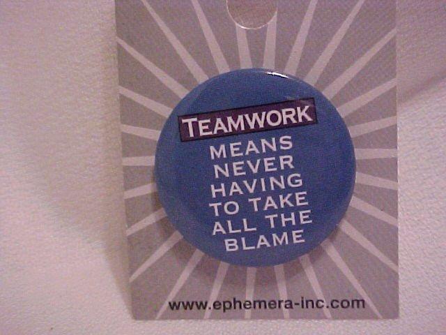 TEAMWORK Pin-Pins