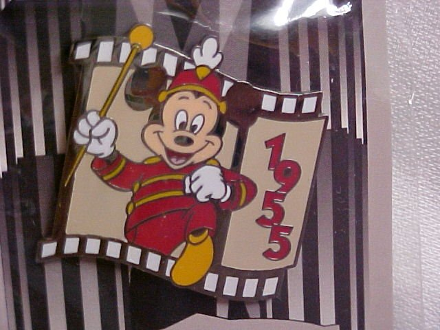 Disney Mickey Mouse Celebrating The Year of 1955 Pin