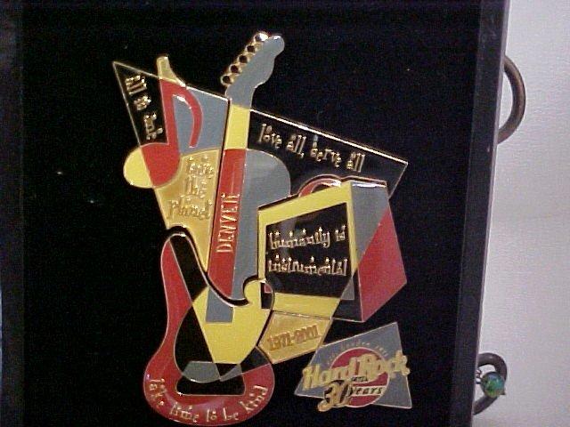 Hartd Rock Cafe 30 Year Anniversary Pins