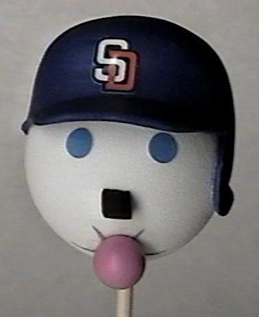San Diego PADRES Antenna Topper Ball Baseball
