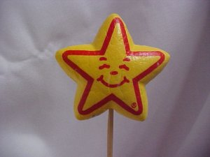 Carl's Jr. STAR Antenna Topper-Ball