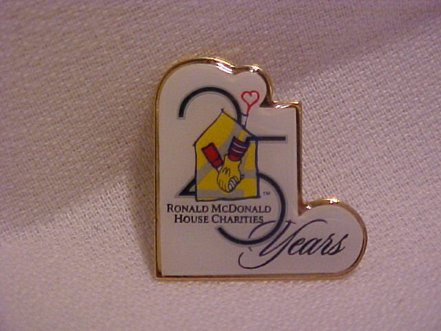 Ronald McDonald 25 Years Pin-Pins