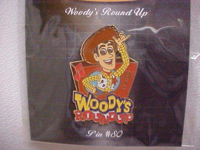 Pixar-Disney Sheriff's Woody Round-up Pin
