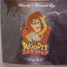 Pixar-Disney Sheriff&#39;s Woody Round-up Pin-Pins