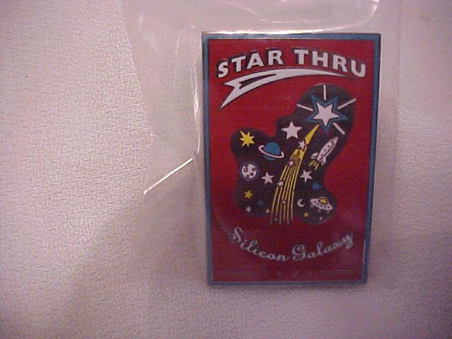 Star Thru  Silicon Galaxy  Pin-Pins