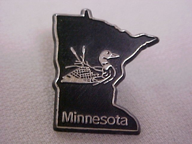 MINNESOTA STATE LAPEL / TIE / HAT PIN -PINS