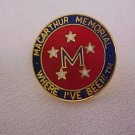 Macarthur Memorial    Pin-Pins