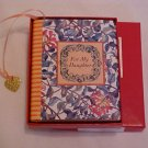 Hardcover Mini Tiny Book For My Daughter  Book