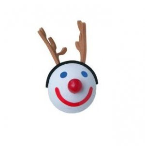 JACK IN THE BOX 2005 REINDEER ANTENNA TOPPER-BALLS