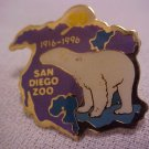SAN DIEGO ZOO Polar Bear North America Pin