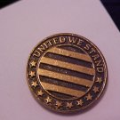 UNITED WE STAND  (METAL)  Pin