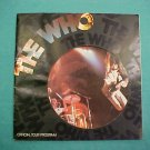 The Who 1975 U.S. Tour Concert Program Book