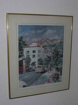 HOTEL LAGUNA Signed-Limited Edition Giclée by Joe Mayer