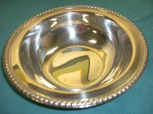 Vintage � Wm. A. Rogers Silver Plated SERVING TRAY