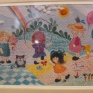 LITTLE GIRLS Signed-Ink & Pen Print by Roberta Hilliard