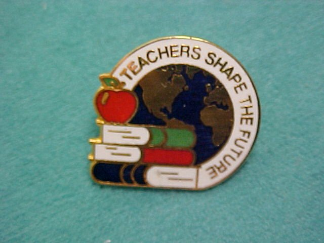 Teachers Shape The Future Metal Pin
