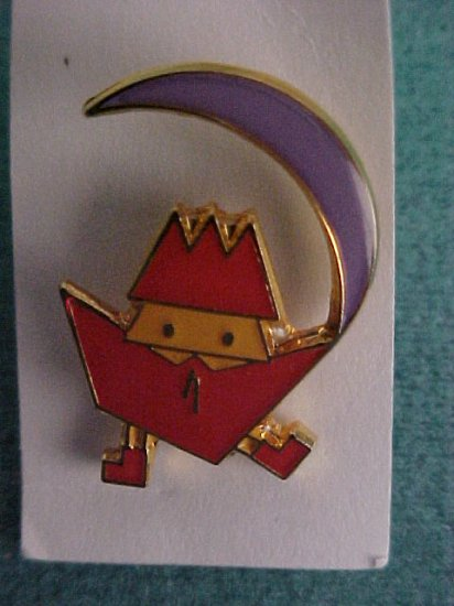 Set of 3 Cloisone Japanese Animation Pin-Pins