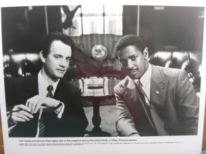 Tom Hanks/Denzel Washington Movie Photo