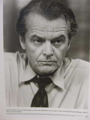 "JACK NICHOLSON  ""WOLF"" Movie Photo Still"