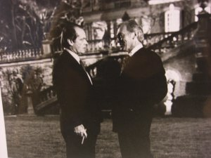 Jack Nicholson &amp; Christopher Plummer in  &quot;WOLF&quot; Movie Photo Still