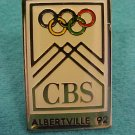 The 1992 Olympics: WINTER GAMES AT ALBERTVILLE - CBS  Pin-Pins