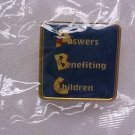Answers Benefiting Children~ Pin-Pins