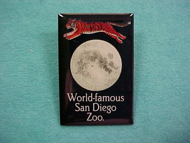 World Famous San Diego Zoo Lapel Pin