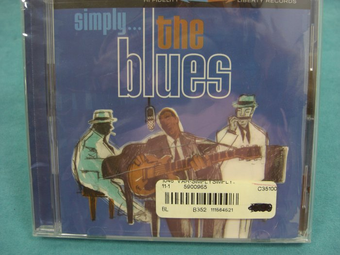 Simply The Blues Various Artists CD NEW/SEALED !