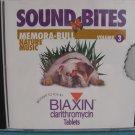 Sound Bites Vol 3 Memora-BULL Nature Music CD New Sealed