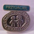 Przyjaciel Foundation Pin