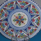 Italian Majolica Pottery Fruit Colors Plate 11 1/2""