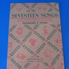 "Seventeen Songs from ""Everything & Anything"" by Dorothy Aldis"