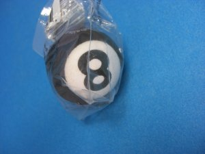Eight Ball Antenna Topper Ball