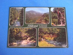 H&Atilde;&para;llental Postcard Germany