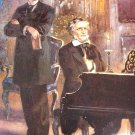 King Ludwig II and Richard Wagner Postcard