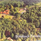 Panoramic View Bayreuth Eremitage Schlosspark Anlage Postcard