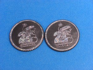 San Diego Comic Con 25th Annual 1994 K-Hitters Coins