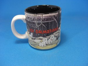 NEW DISNEY CLASSIC 101 DALMATIANS COLLECTIBLE MUG