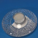 Sweden Orrefors Crystal Candle Holder by Lars Hellsten