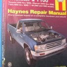 HAYNES REPAIR MANUAL TOYOTA 4RUNNER RUNNER 2000 99 98
