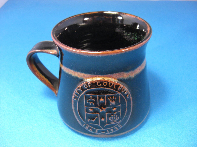 Australian Mug Goulburn City by Gulson MD Pottery Studio