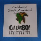 San Diego Zoo South America Celebration Lapel Pin